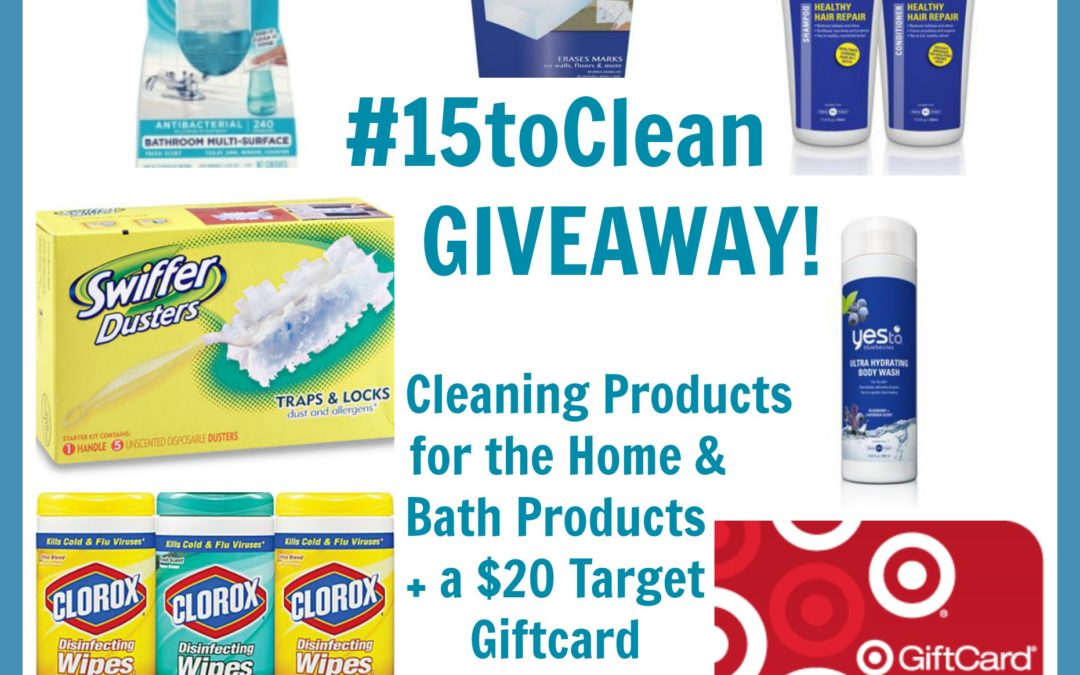 The 15 Minute Cleaning Challenge