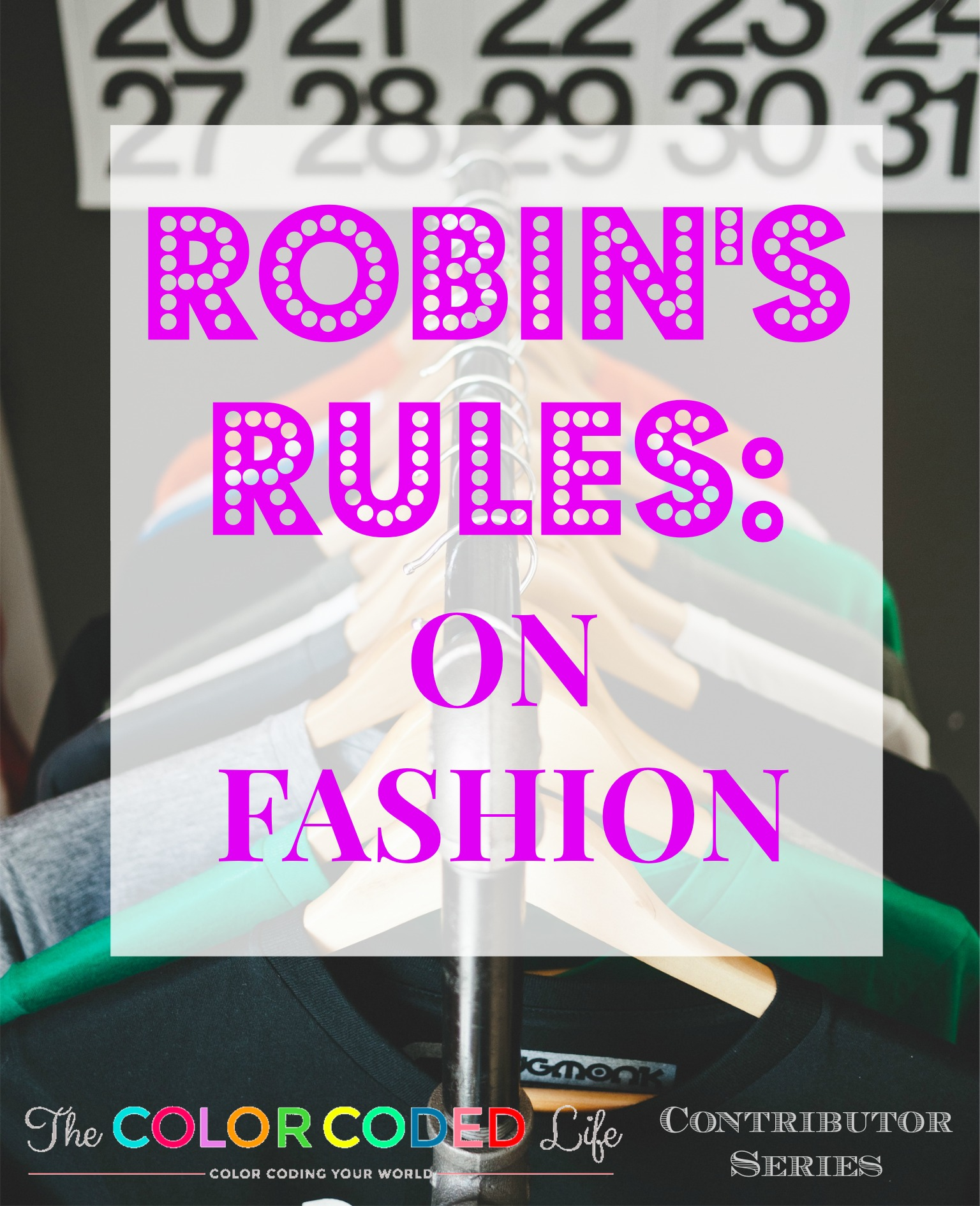 robins rules on fashion